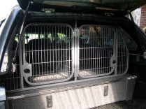 Dual Cage with Storage